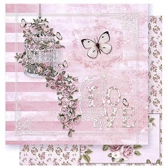 Papel-Scrapbook-Litoarte-SD-376-305x305cm-Gaiola-e-Cascata-de-Rosas