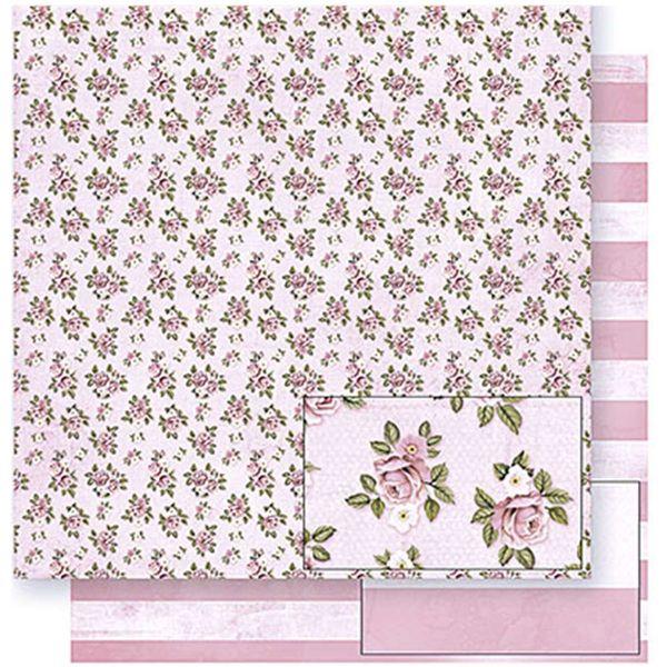 Papel-Scrapbook-Litoarte-SD-381-305x305cm-Flores-e-Listras