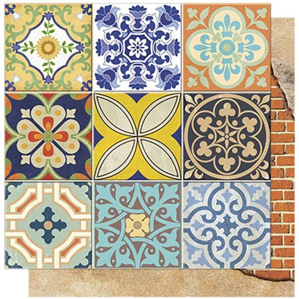 Papel-Scrapbook-Litoarte-SD-564-305x305cm-Azulejos-e-Tijolos