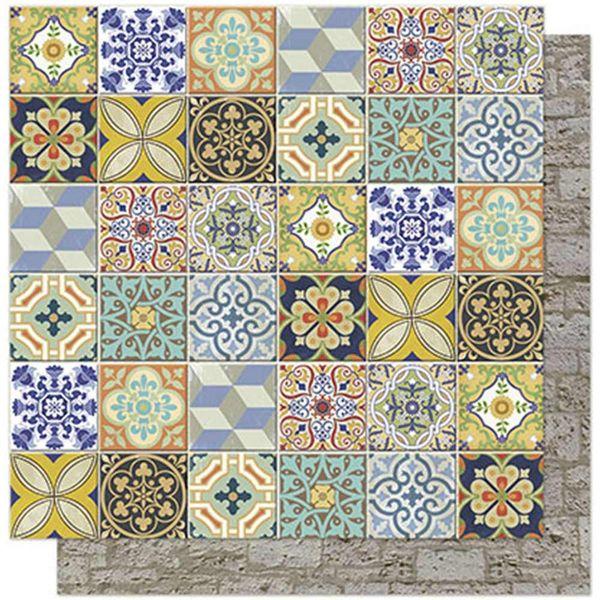 Papel-Scrapbook-Litoarte-SD-565-305x305cm-Azulejos-e-Pedras