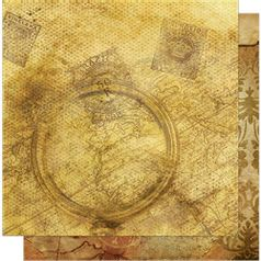 Papel-Scrapbook-Litoarte-SD-567-305x305cm-Lupa-Carimbo-e-Mapa