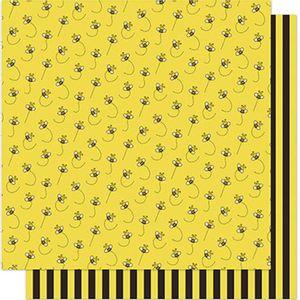 Papel-Scrapbook-Litoarte-SD-579-305x305cm-Abelhas