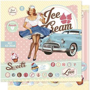 Papel-Scrapbook-Litoarte-SD-581-305x305cm-Pin-Up-Retro-Sorveteria
