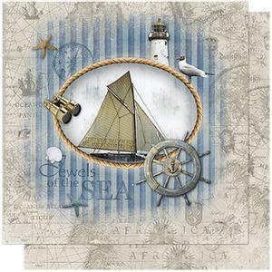 Papel-Scrapbook-Litoarte-SD-592-305x305cm-Sea-Mapa-Nautico