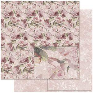 Papel-Scrapbook-Litoarte-SD-754-305x305cm-Estampa-Flores-Vintage