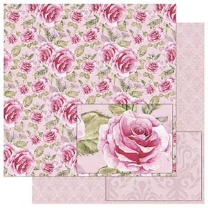 Papel-Scrapbook-Litoarte-SD-759-305x305cm-Estampa-Rosas-Vintage