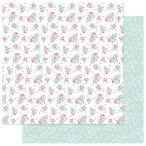 Papel-Scrapbook-Litoarte-SD-734-305x305cm-Mini-Flores-Cor-de-Rosa