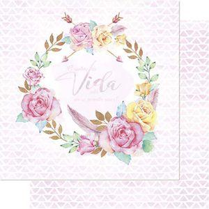 Papel-Scrapbook-Litoarte-SD-738-305x305cm-Guirlanda-Floral