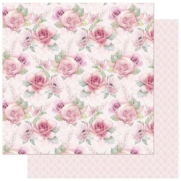 Papel-Scrapbook-Litoarte-SD-742-305x305cm-Floral-Cor-de-Rosa