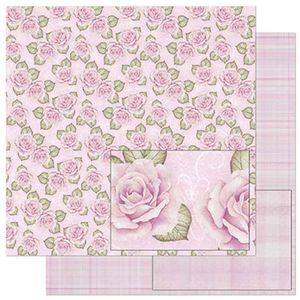 Papel-Scrapbook-Litoarte-SD-802-305x305cm-Estampa-Rosas