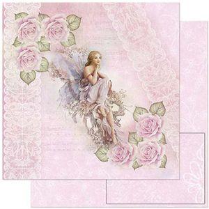 Papel-Scrapbook-Litoarte-SD-801-305x305cm-Fada-Cor-Rosa