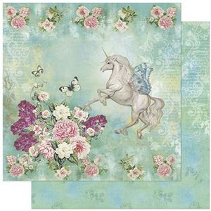 Papel-Scrapbook-Litoarte-SD-799-305x305cm-Unicornio-Flor-Tiffany