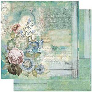 Papel-Scrapbook-Litoarte-SD-798-305x305cm-Flores-Tiffany-Vintage