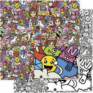 Papel-Scrapbook-Litoarte-SD-768-305x305cm-Doodle-Art-Teen-Feminino
