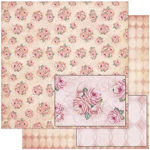 Papel-Scrapbook-Litoarte-SD-771-305x305cm-Padrao-de-Rosas-e-Arabescos