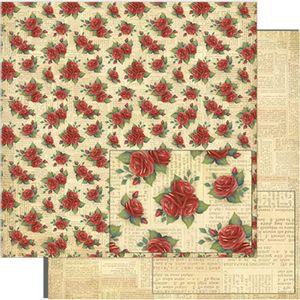 Papel-Scrapbook-Litoarte-SD-775-305x305cm-Padrao-de-Rosas-Vermelhas