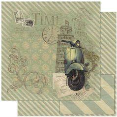 Papel-Scrapbook-Litoarte-SD-781-305x305cm-Moto-Vespa-Vintage-Torre