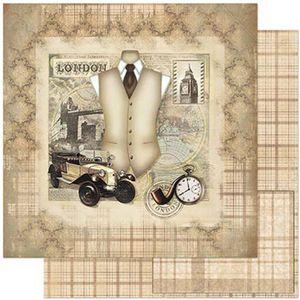 Papel-Scrapbook-Litoarte-SD-786-305x305cm-Carro-e-Traje-Antigo