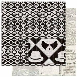 Papel-Scrapbook-Litoarte-SD-789-305x305cm-Padrao-Elementos-Masculinos