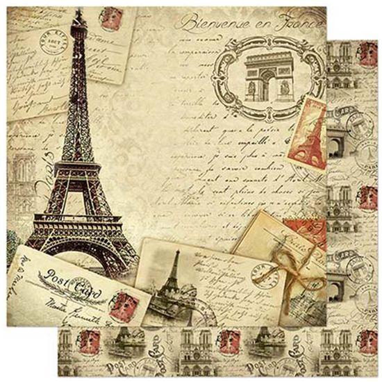 Papel-Scrapbook-Litoarte-SD-790-305x305cm-Paris-Franca-Vintage