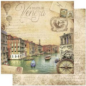 Papel-Scrapbook-Litoarte-SD-792-305x305cm-Veneza-Italia-Vintage