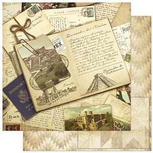 Papel-Scrapbook-Litoarte-SD-795-305x305cm-Mexico-Vintage