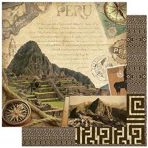 Papel-Scrapbook-Litoarte-SD-796-305x305cm-Machu-Picchu-Peru-Vintage