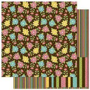 Papel-Scrapbook-Litoarte-305x305cm-SD-824-Flores-Coloridas