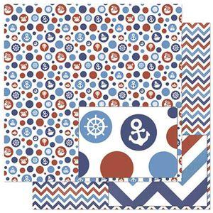 Papel-Scrapbook-Litoarte-305x305cm-SD-831-Poas-Vermelhos-e-Azuis
