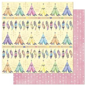 Papel-Scrapbook-Litoarte-305x305cm-SD-834-Cabanas-e-Penas