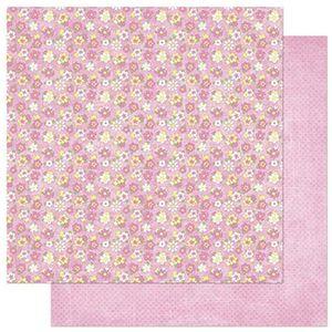 Papel-Scrapbook-Litoarte-305x305cm-SD-847-Padrao-de-Florzinhas