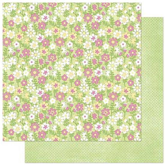 Papel-Scrapbook-Litoarte-305x305cm-SD-848-Padrao-de-Florzinhas