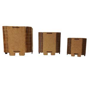 Trio-de-Cachepot-Porta-Objetos-em-MDF-de-Encaixe-Liso---Palacio-da-Arte