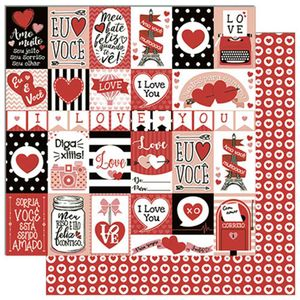 Papel-Scrapbook-Litoarte-305x305cm-SD-779-Tags-de-Love