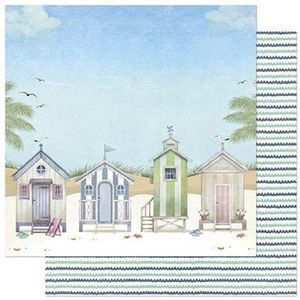 Papel-Scrapbook-Litoarte-305x305cm-SD-878-Praia-Casinhas