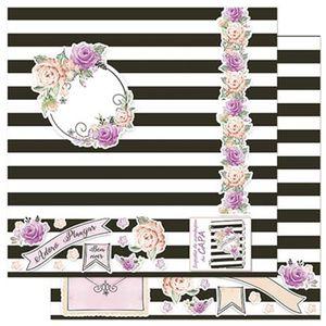 Papel-Scrapbook-Litoarte-305x305cm-SD-905-Planner-Rosas-e-Flores-Capa