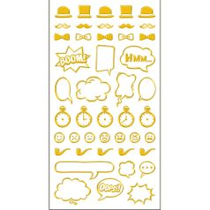 Adesivo-Mini-Foil-Metalizado-Toke-e-Crie-AD1921-Acessorios-Masculino-Dourado