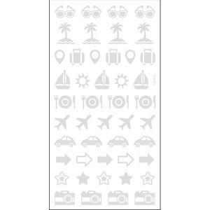 Adesivo-Mini-Foil-Metalizado-Toke-e-Crie-AD1931-Viagem-Prata