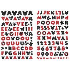 Adesivo-EVA-Puro-Glitter-Toke-e-Crie-ADD18-Mickey-Mouse-com-2-unidades