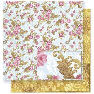 Papel-Scrapbook-Litoarte-SD-307-305x305cm-Floral-com-Rosas