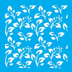 Stencil-Litocart-14x14cm-Pintura-Simples-LSP-011-Estampa-Floral