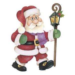 Aplique-Decoupage-Natal-Litoarte-APMN20-013-em-Papel-e-MDF-20cm-Papai-Noel-com-Luminaria