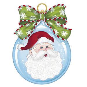 Aplique-Decoupage-Natal-Litoarte-APMN8-138-em-Papel-e-MDF-Papai-Noel-Bola
