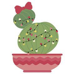 Aplique-Decoupage-Natal-Litoarte-APMN8-104-em-Papel-e-MDF-8cm-Cacto-com-Laco-e-Luzinhas