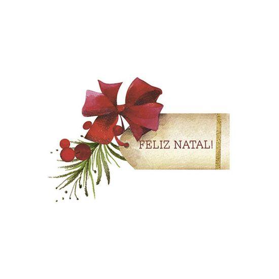 Aplique-Decoupage-Natal-Litoarte-APMN8-128-em-Papel-e-MDF-Tag-Feliz-Natal