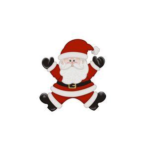 Aplique-Decoupage-Natal-Litoarte-APMN8-134-em-Papel-e-MDF-Papai-Noel