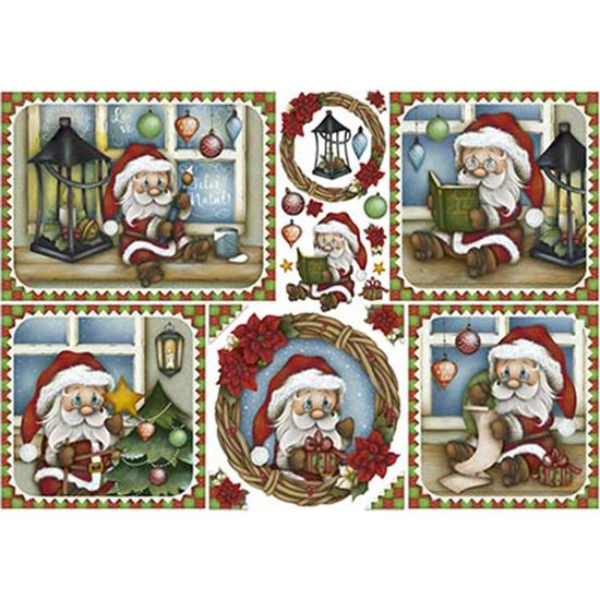 Papel-Decoupage-Natal-Litoarte-PDN-126-343x49cm-Papai-Noel-Pequeno