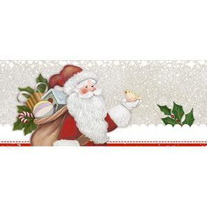 Barra-Adesiva-Litoarte-Natal-BDAN-IV-063-436x4cm-Papai-Noel-com-Galho
