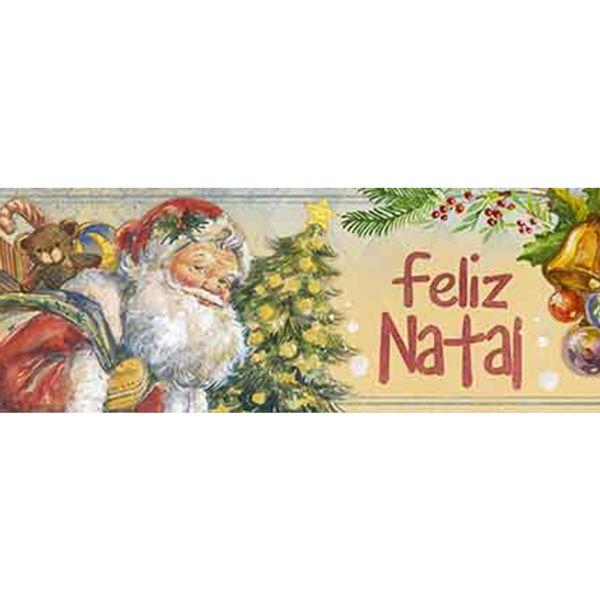 Barra-Adesiva-Litoarte-Natal-BDAN-IV-108-436x4cm-Papai-Noel-Vintage-e-Arvore