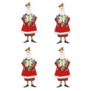 Botoes-em-Madeira-MDF-e-Papel-Natal-Litoarte-BMPN-016-Papai-Noel-Tilda-com-Presentes